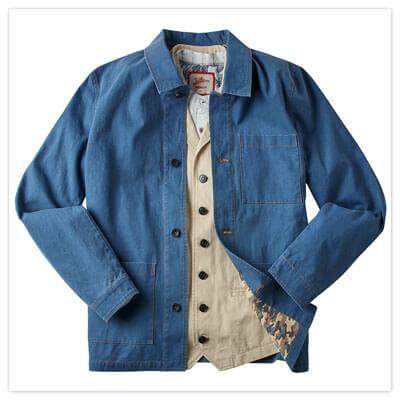 Joe Browns Wonderful Workwear Jacket in Blue