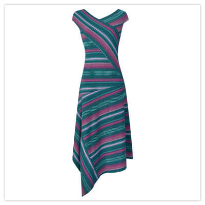 Joe Browns Utterly Unique Striped Dress