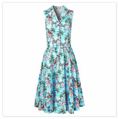 On Safari Dress