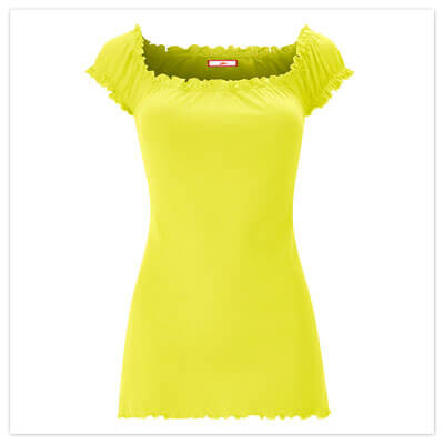 Joe Browns All New Basic Gypsy Top in Lime