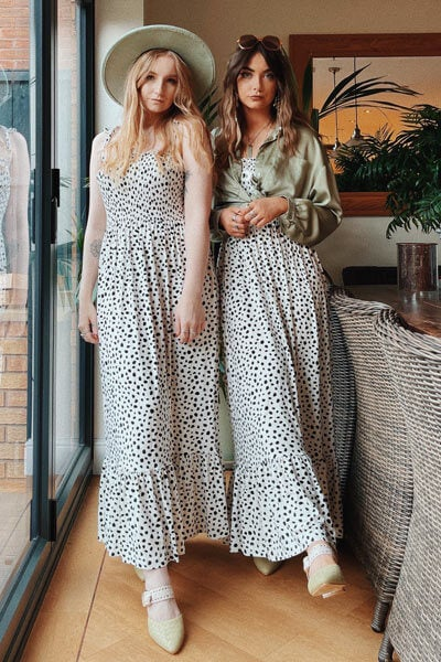 Joe Browns Dalmation Spot Print Dress