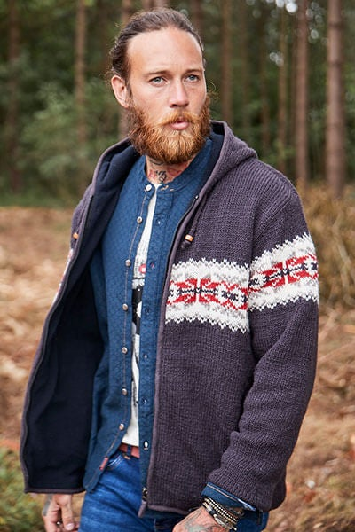 Joe Browns Wonderful Wool Knitted Hoodie