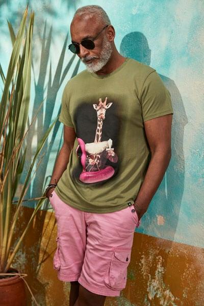 Joe Browns Giraffe Splash T-Shirt