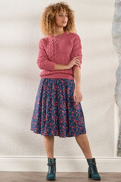 Joe Browns Pink Cable Jumper and Dress