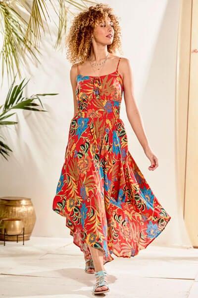 Unique Hem Dress
