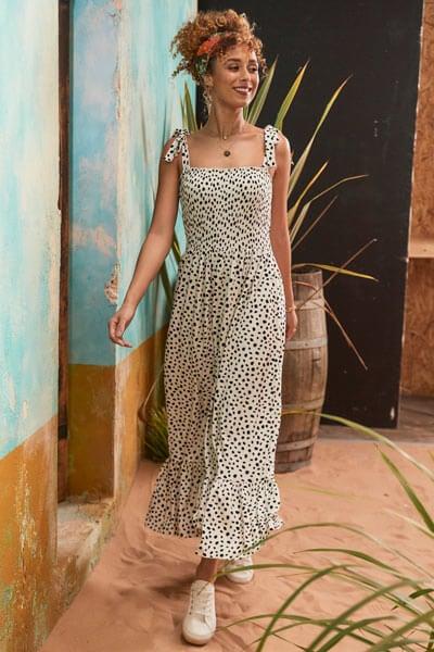 Joe Browns Damlatian Print Maxi Dress