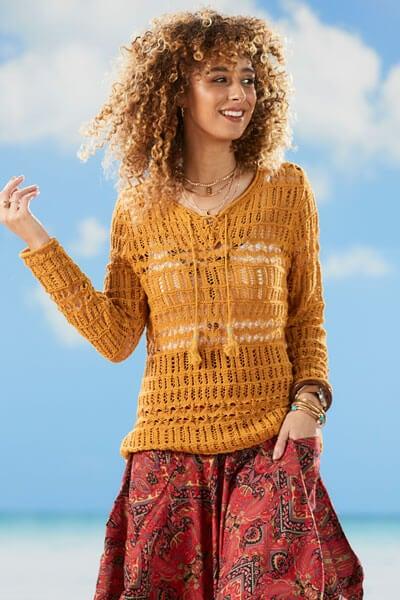 Joe Browns Mustard Knit