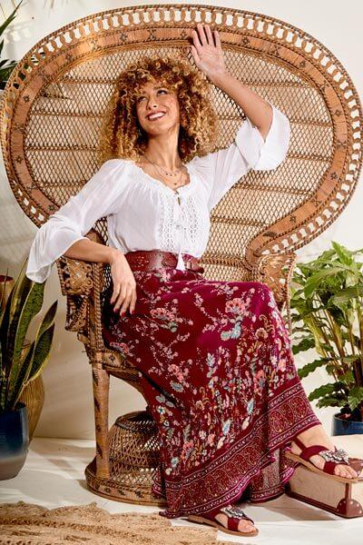 Modern Boho Skirt