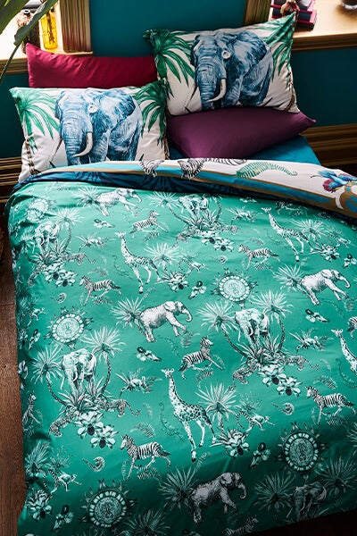 Opuent Safari Infused Bed Set
