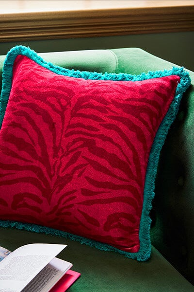OPulent Safari Print Cushion
