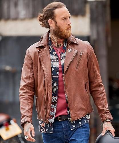 Joe Browns Men's Leather Jackets