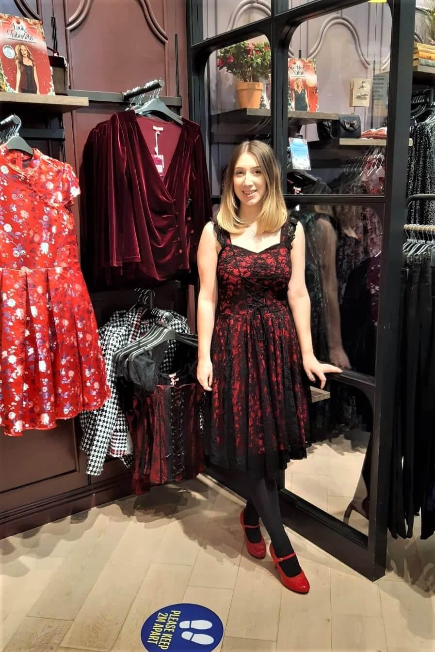 Nancy Lace Dress