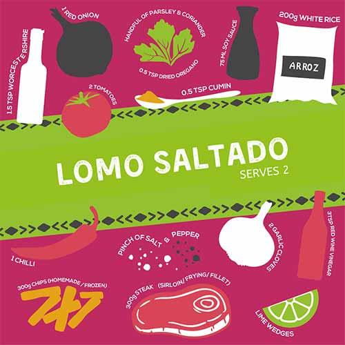 Lomo Saltado Ingredients