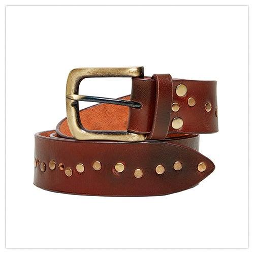 Joe Browns Remarkable Studded Leather Belt