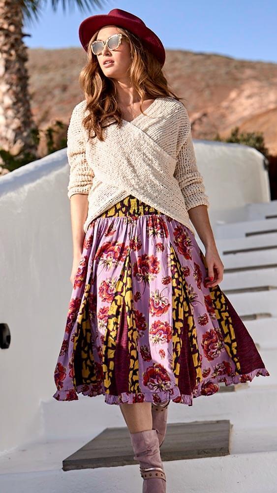 Joe Browns Glamorous Godet Skirt