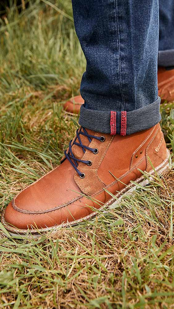 Joe Browns Drifter Casual Leather Boots