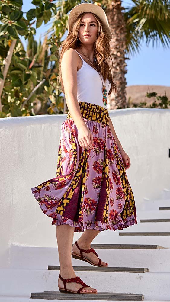 Joe Browns Glamorous Godet Midi Skirt