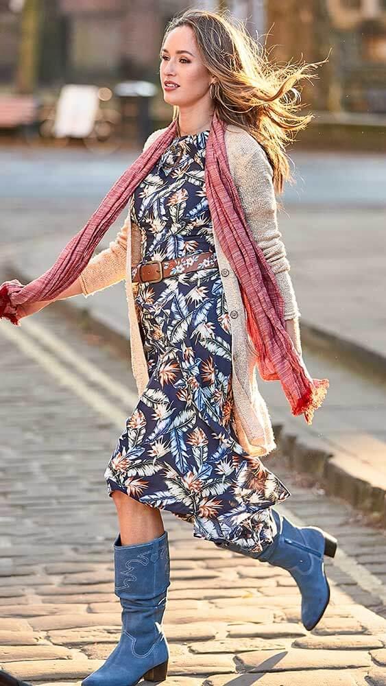 Joe Browns Fabulous Vintage Collar Dress