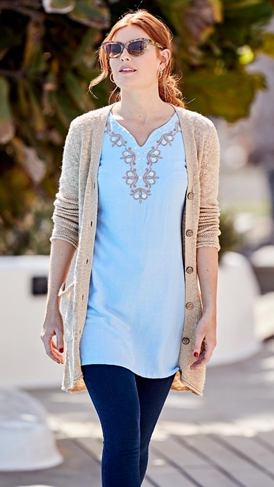 Joe Browns Beautiful Embroidered Tunic