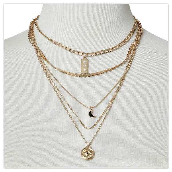 San Rafael Layered Necklace
