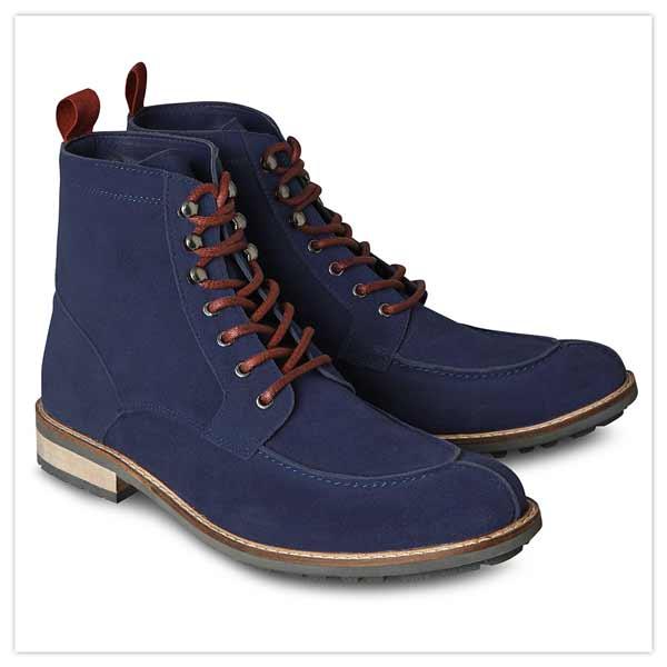 Ziggy Suede Apron Boots