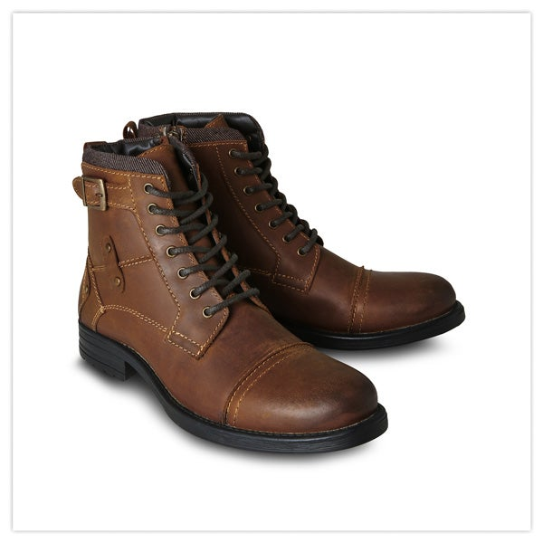 Free Style Leather Boots