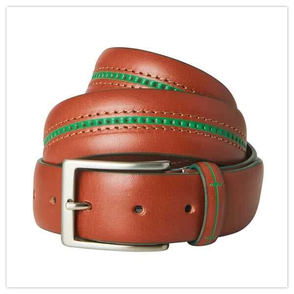Italian Job Leather Belt