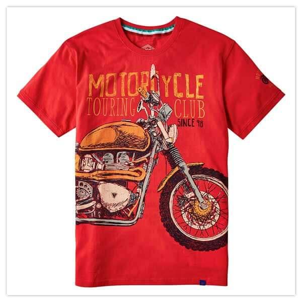 Motorcycle Club Tee