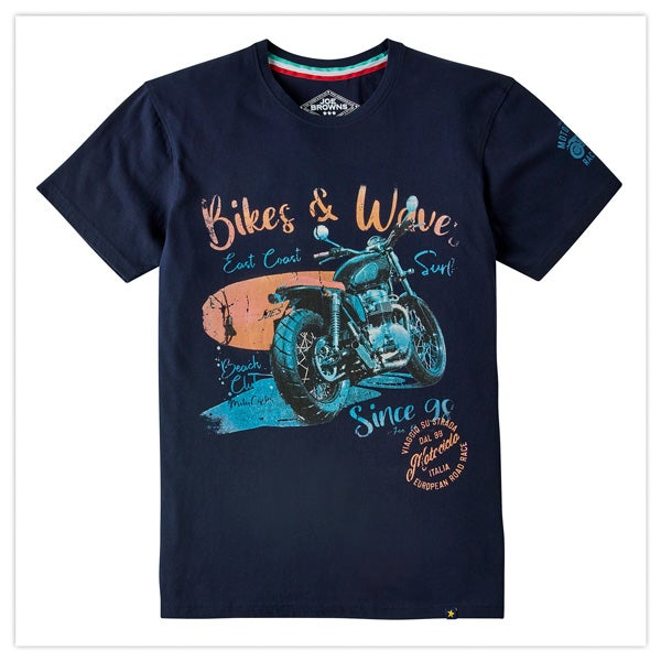 Bikes & Waves Tee