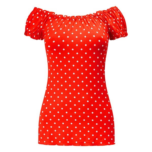 Joe Browns Printed Gypsy Spotty Top