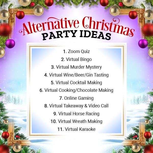 Joe Browns Alternative Christmas Party Ideas 2020