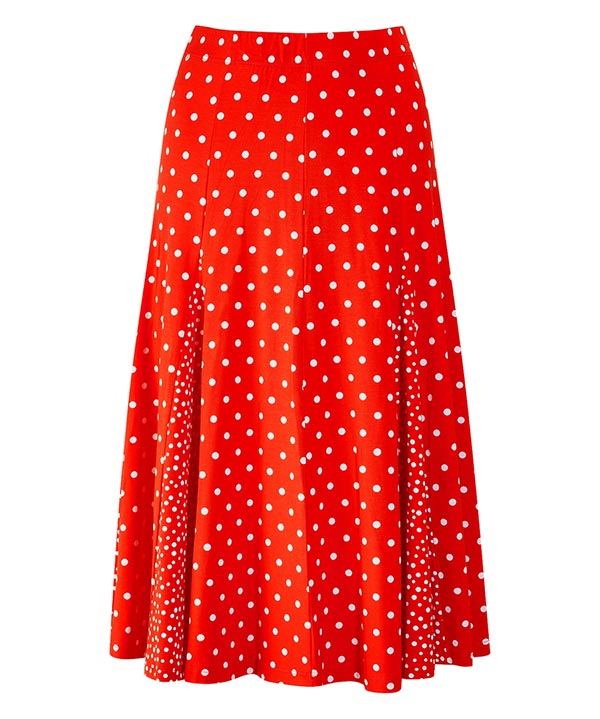 Joe Browns Ultimate Polka Dot Midi Skirt