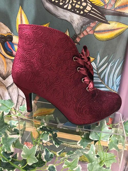 Roxie's Ballroom Velvet Boots