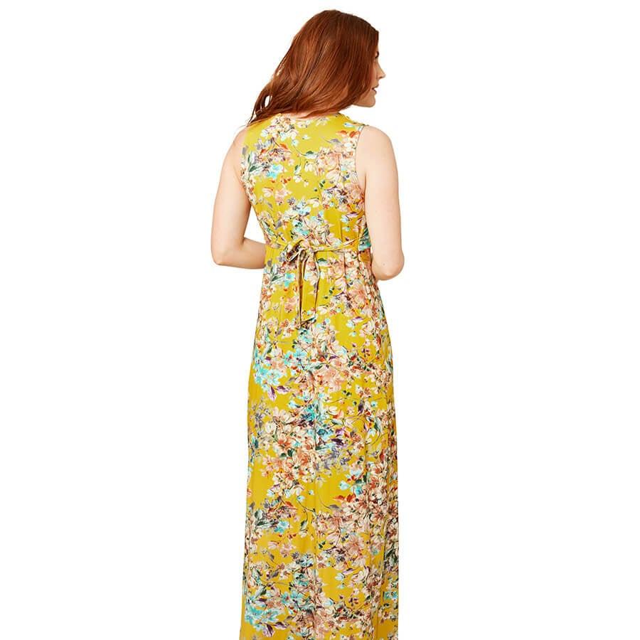 Joe Browns Jersey Maxi Dress - Back