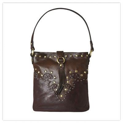 Island Escape Boho Leather Bag