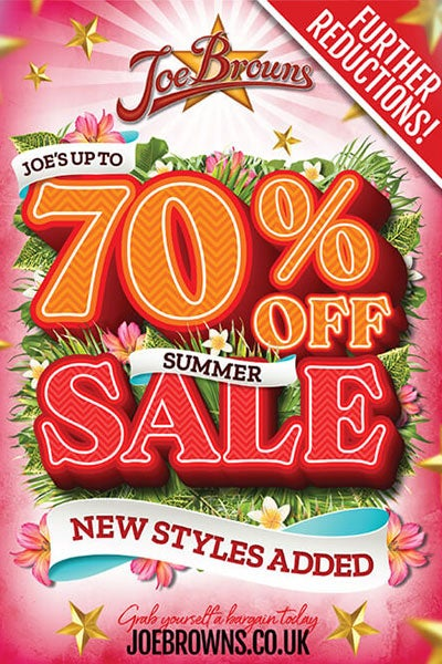 Joe Browns up to 70% off Summer Sale