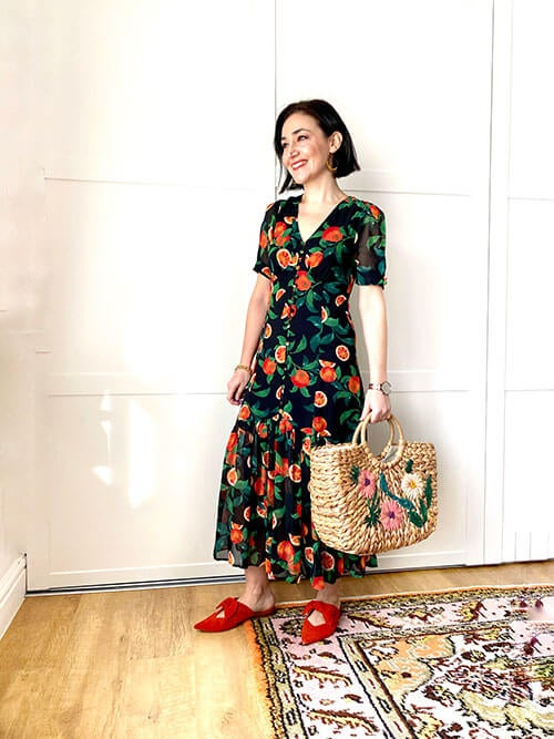 Cool And Quirky Dress on Emms