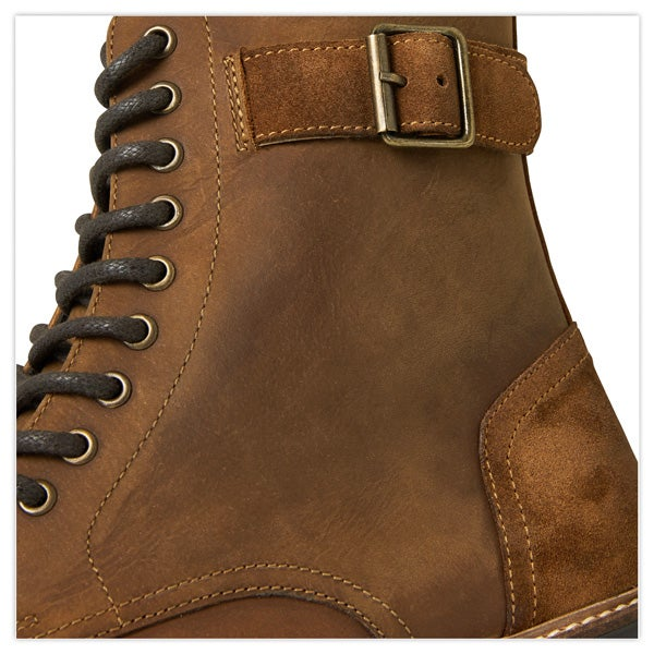 Mint Military Style Boots