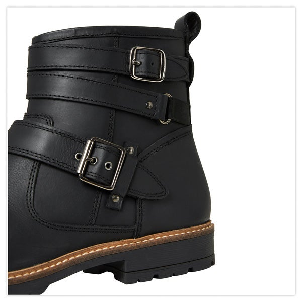 One For The Road Oiled Biker Boots
