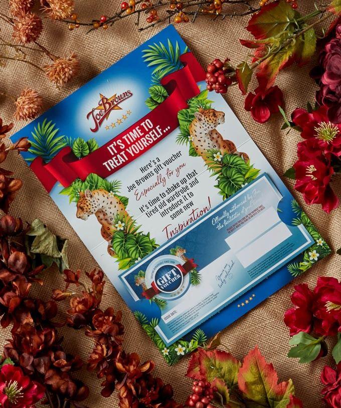 Joe Browns Postal Gift Voucher