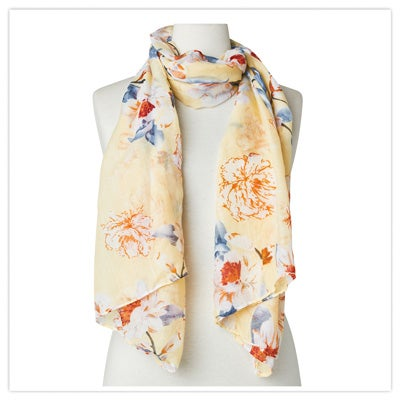 Perfect Moment Floral Scarf