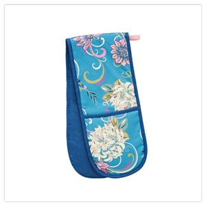 Fabulous Floral Double Oven Glove