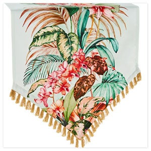 Truly Tropical Table Runner
