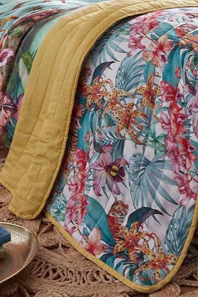 Truly Tropical Bedspread