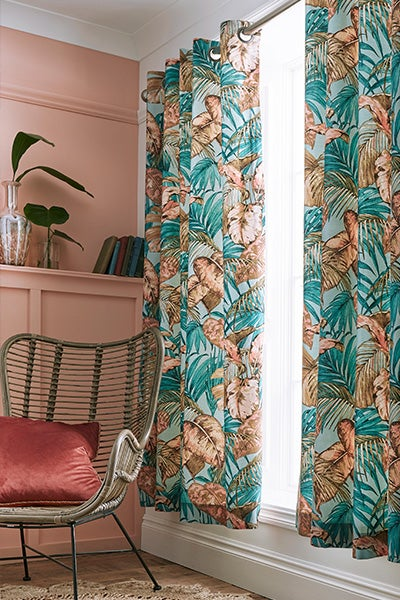 Tantalizing Tropical Curtains