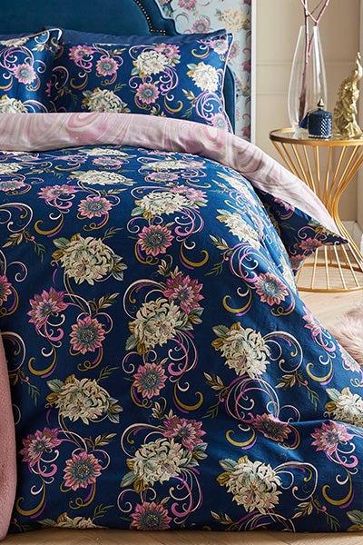 Nouveau Peacock Bedset