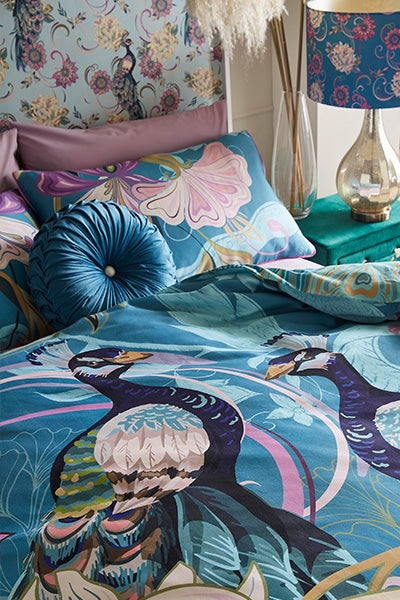 Perfect PEacock Bedset