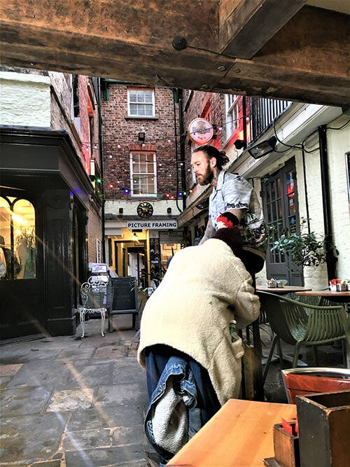 Normans Court York - Behind The Scenes