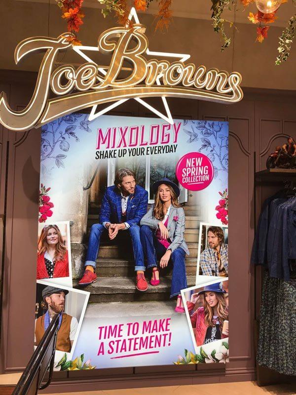 Joe Browns store Meadowhall