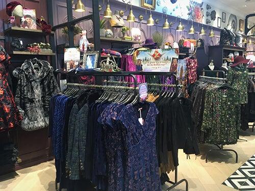 Joe Browns ladieswear in-store